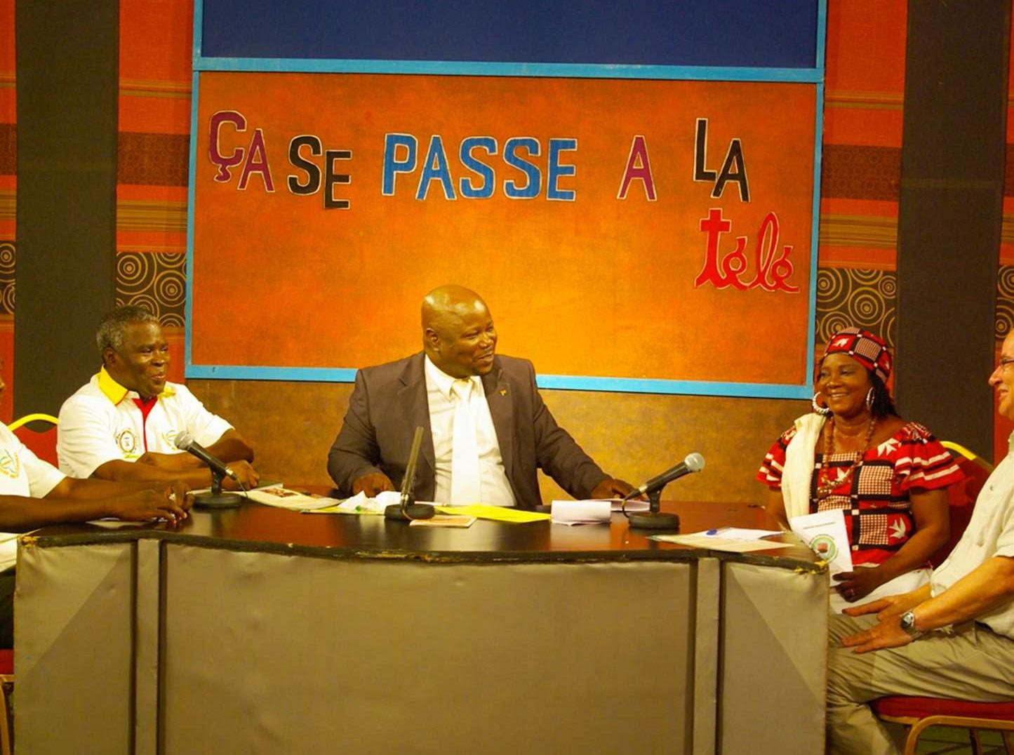 Passage à la Télévision Nationale du Burkina – Agrinovia 2014
